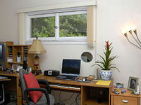 Desk area, after